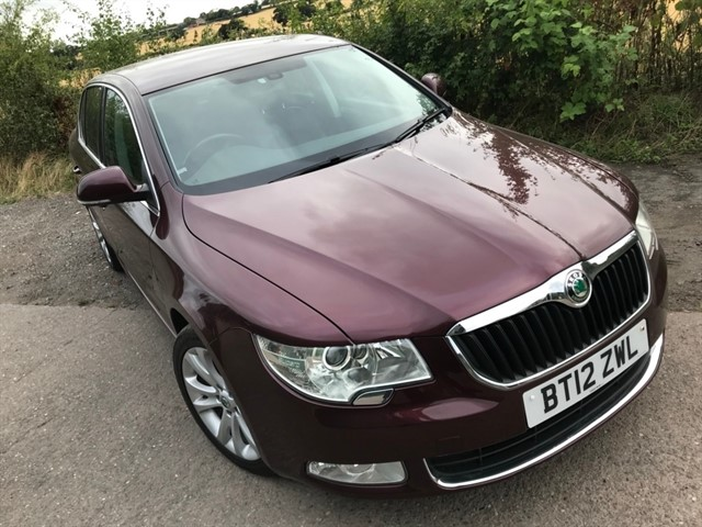 used Skoda Superb TDI CR DPF SE Plus 5dr in west-midlands