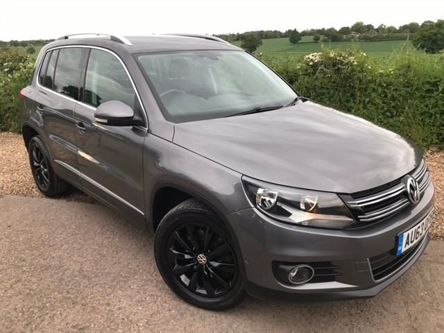 used VW Tiguan TDI BlueMotion Tech Match 4WD (s/s) 5dr in west-midlands