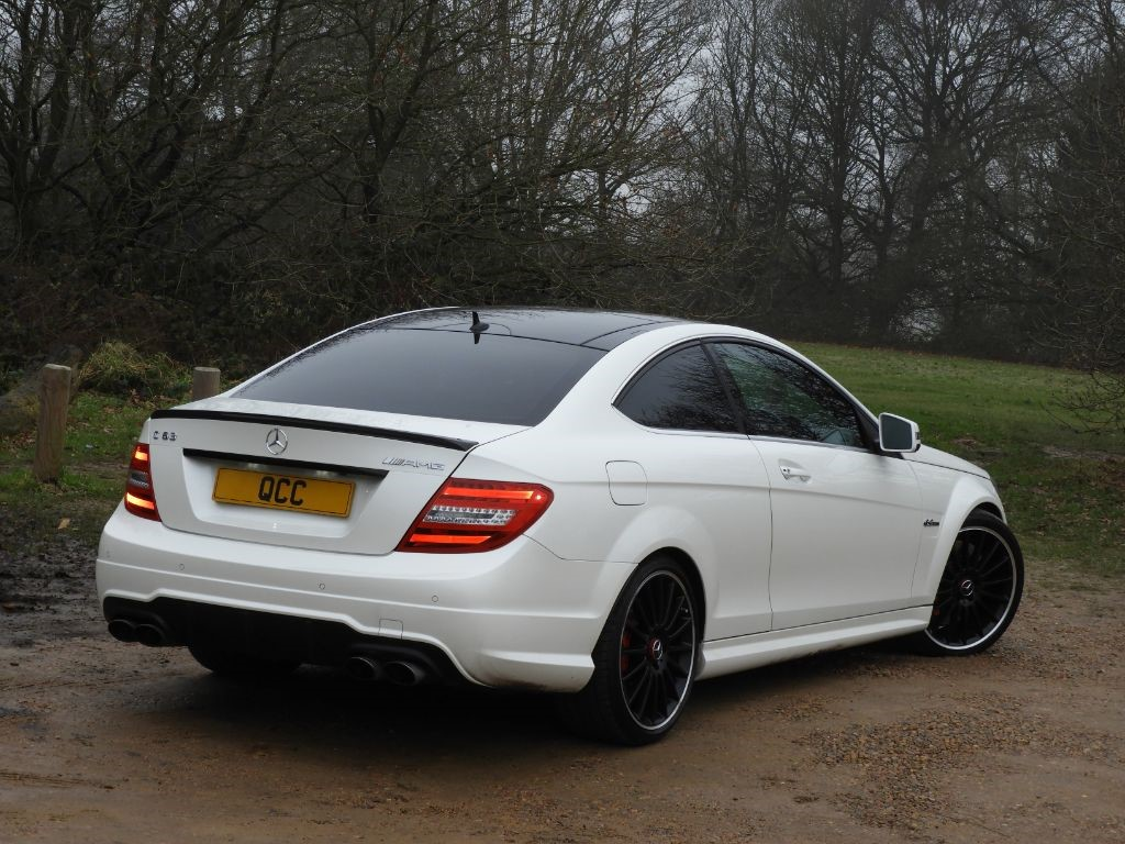 mercedes c class c63 amg edition 125 amg performance pack low mileage quirks car company. Black Bedroom Furniture Sets. Home Design Ideas