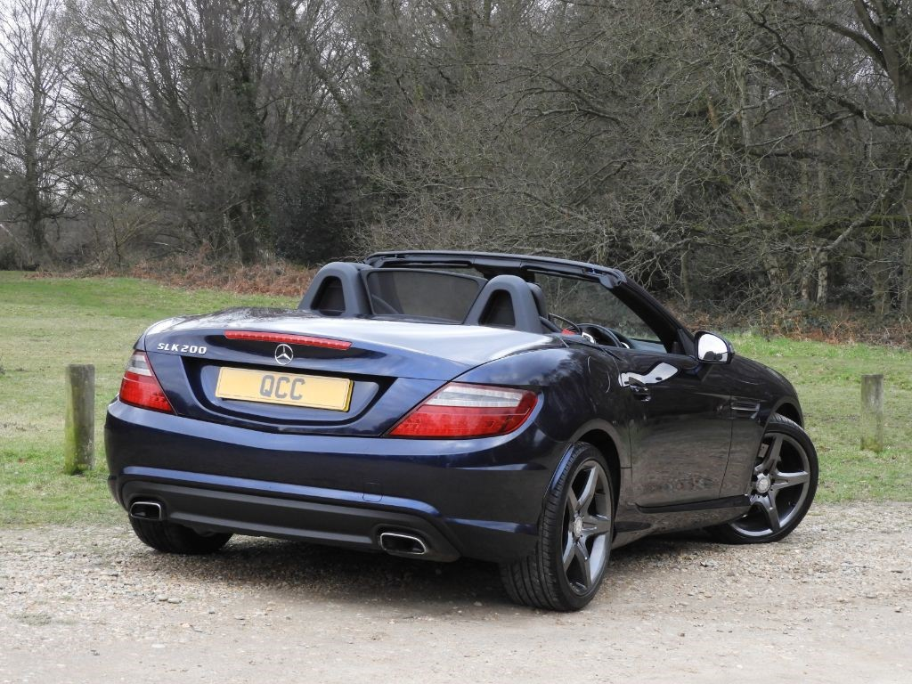 mercedes slk class slk slk200 blueefficiency amg sport ed125 quirks car company. Black Bedroom Furniture Sets. Home Design Ideas