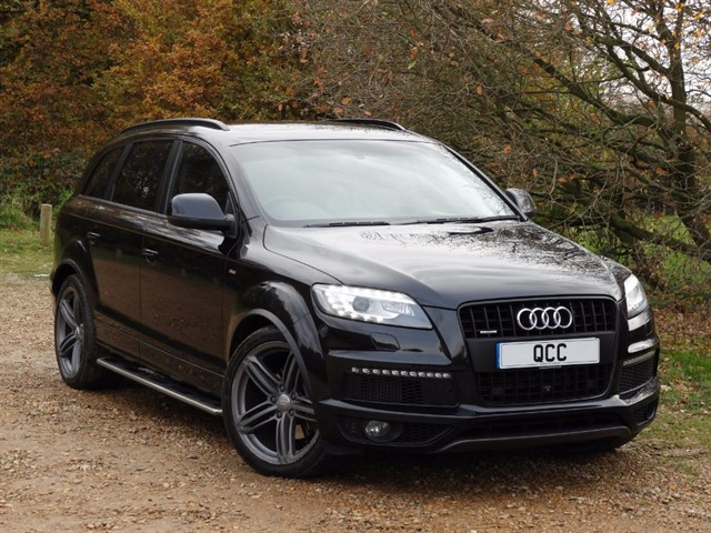 audi q7 tdi quattro s line plus quirks car company. Black Bedroom Furniture Sets. Home Design Ideas