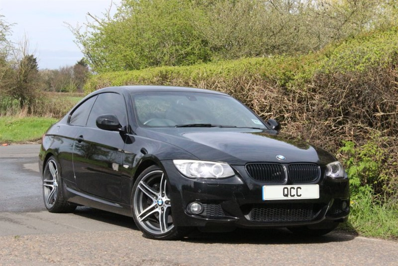 """used BMW 335d M SPORT Auto. SAT NAV, 19"""" ALLOYS. in essex-for-sale"""