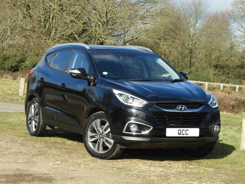 used Hyundai ix35 CRDI GO. PANORAMIC ROOF, HEATED SEATS. in essex-for-sale