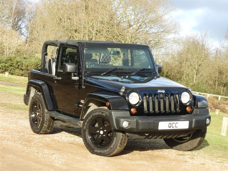 used Jeep Wrangler SAHARA CRD in essex-for-sale