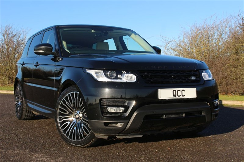 used Land Rover Range Rover Sport SDV6 HSE BLACK STEALTH PACK in essex-for-sale