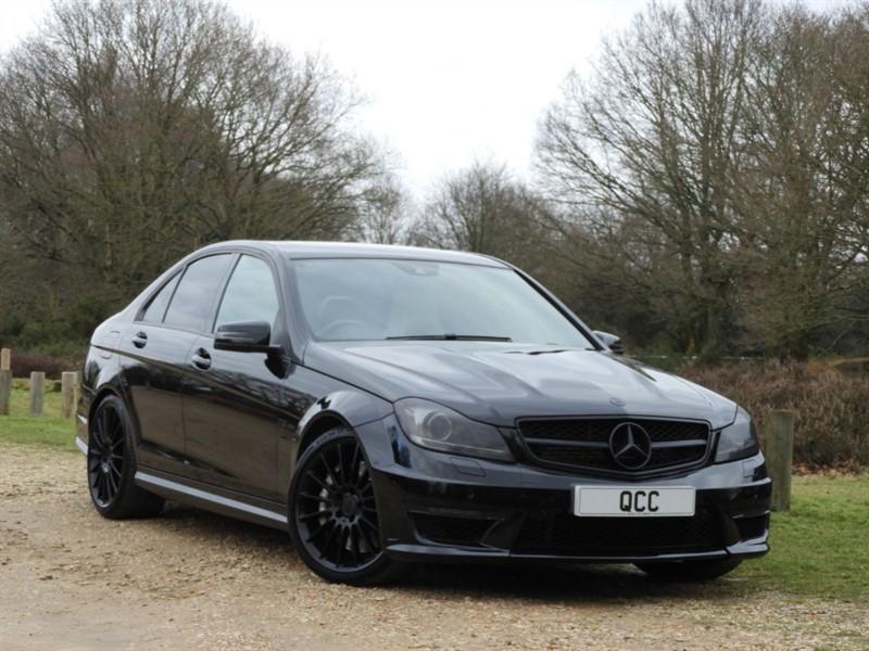 "used Mercedes C63 AMG HARMAN KARDON, 19"" ALLOYS. in essex-for-sale"