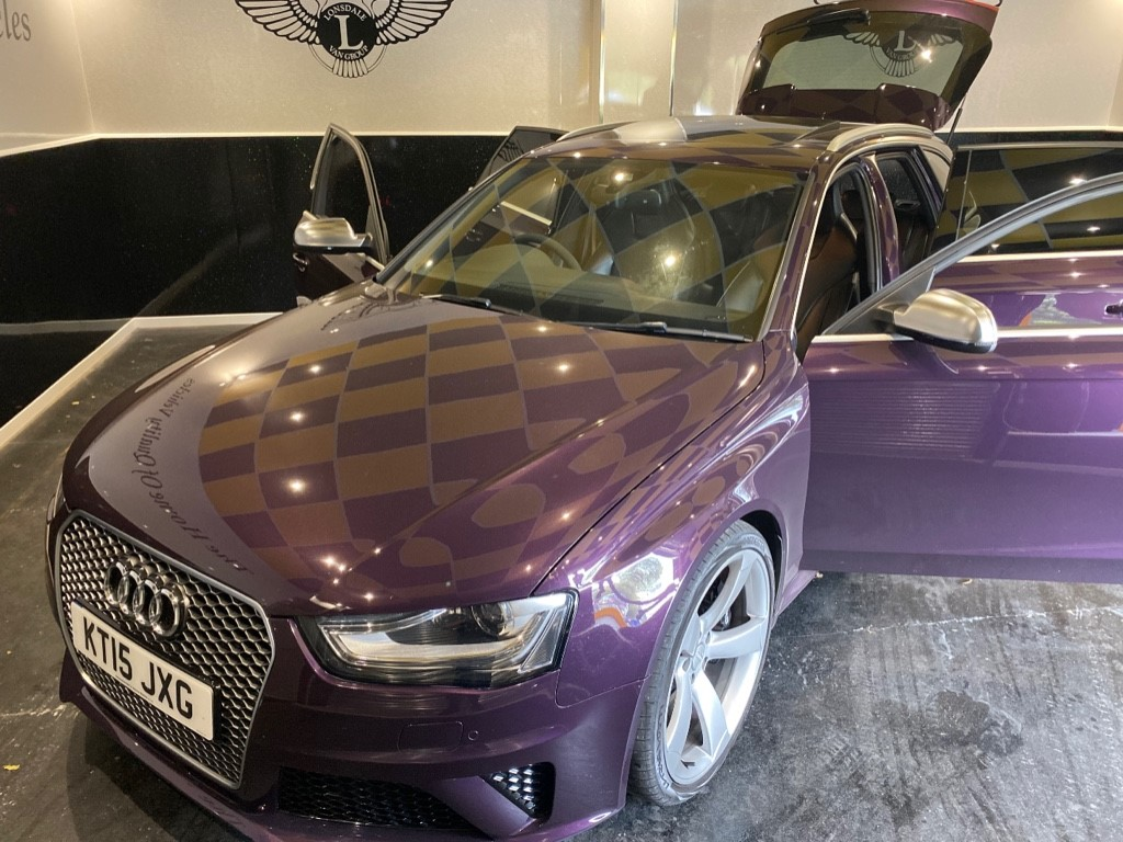 used Audi RS4 AVANT FSI QUATTRO in gwent