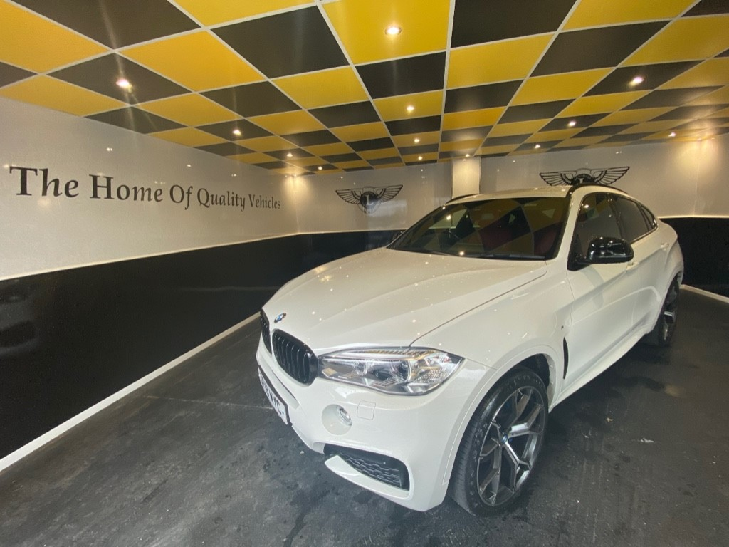 used BMW X6 XDRIVE40D M SPORT in gwent