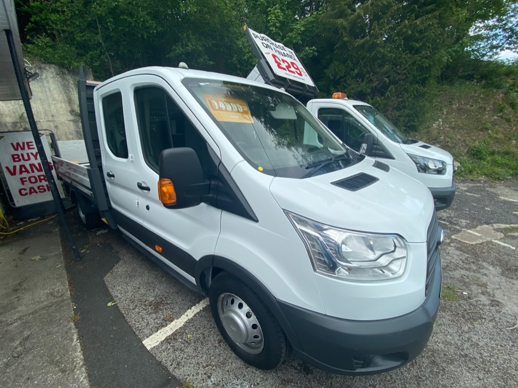 used Ford Transit 350 L3 DCB C/C DRW in gwent