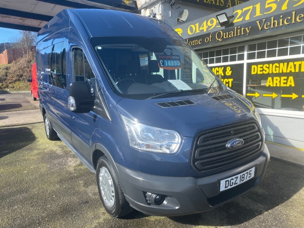 used Ford Transit 350 L3H2 DCB P/V in gwent