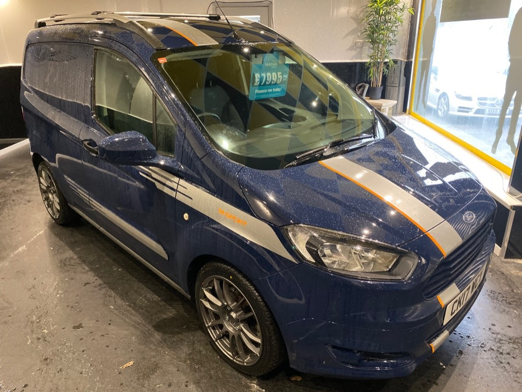 used Ford Transit Courier M-SPORT PACK in gwent