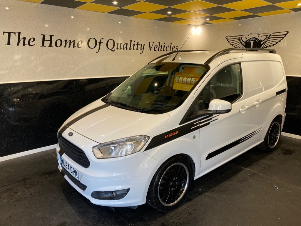 used Ford Transit Courier TREND TDCI in gwent