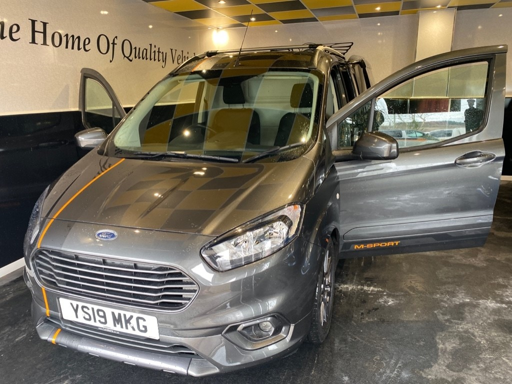 used Ford Transit Courier SPORT TDCI in gwent