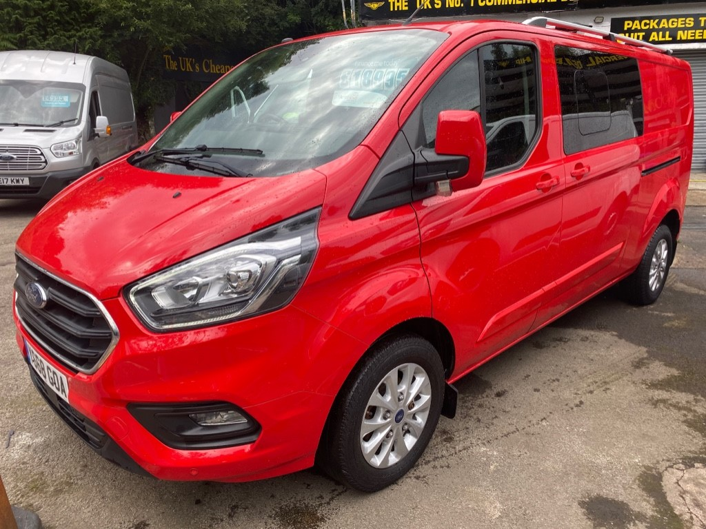 used Ford Transit Custom 300 LIMITED DCIV L2 H1 in gwent