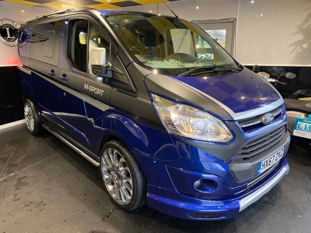 used Ford Transit Custom 310 LIMITED LR DCB in gwent