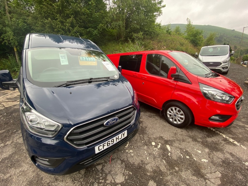used Ford Transit Custom 300 LIMITED P/V ECOBLUE in gwent