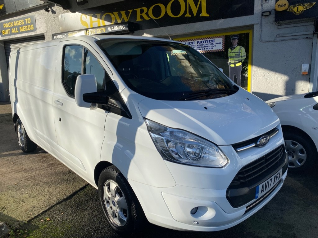 used Ford Transit Custom 310 LIMITED LR P/V in gwent