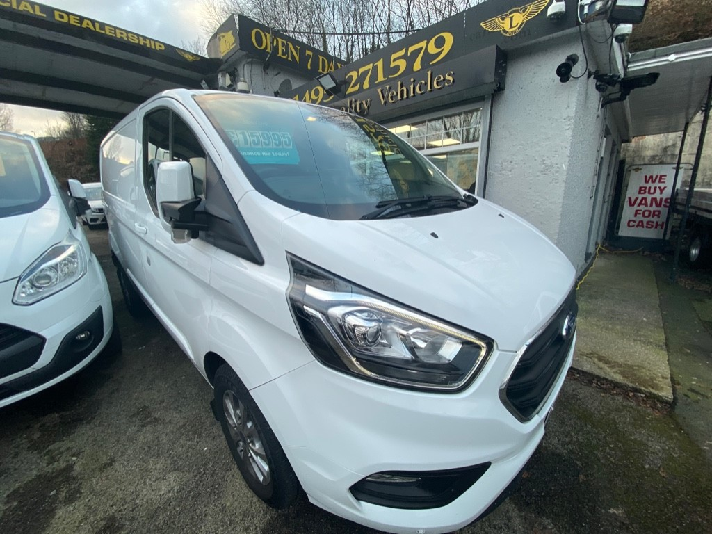 used Ford Transit Custom 300 LIMITED P/V L1 H1 in gwent