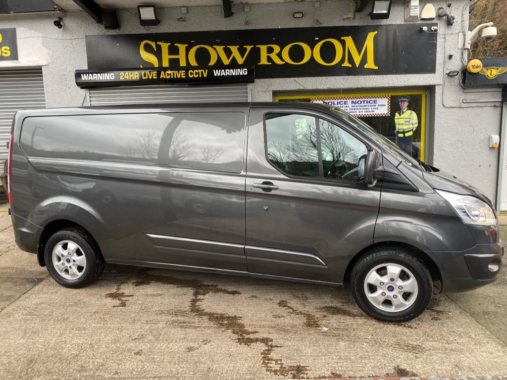 used Ford Transit Custom 290 LIMITED LR DCB in gwent