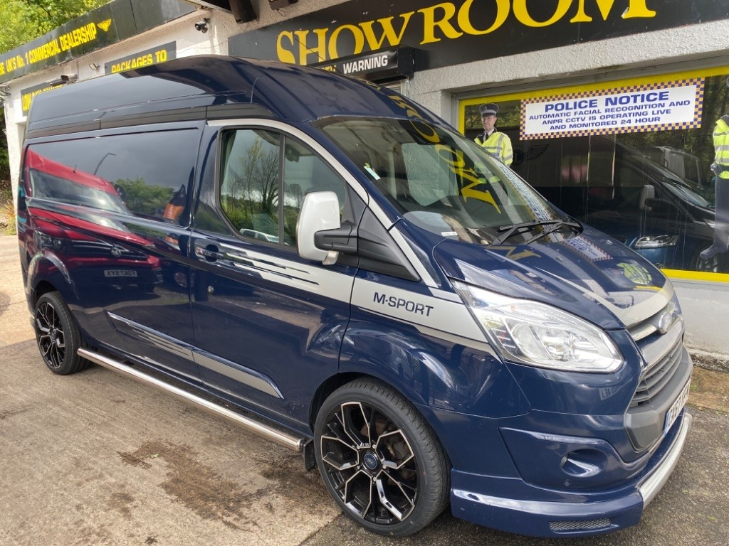 used Ford Transit Custom 310 LIMITED HR P/V in gwent