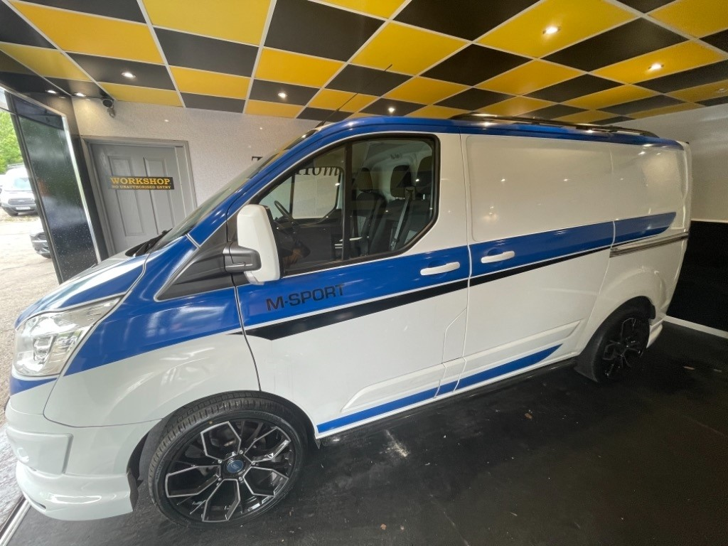 used Ford Transit Custom 270 LIMITED LR P/V in gwent