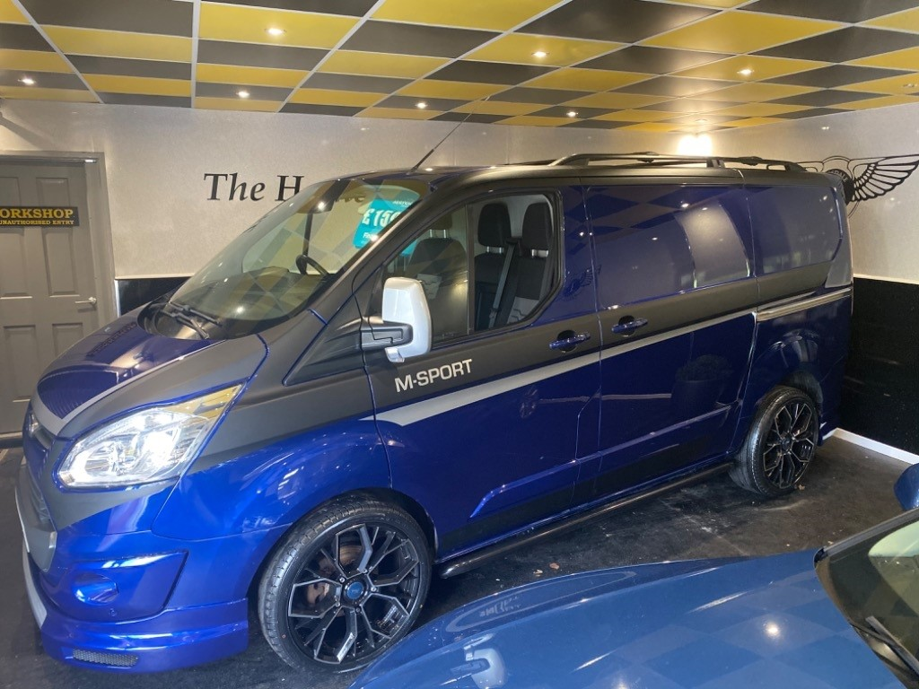 used Ford Transit Custom 270 LIMITED MODEL / AA REPORT in gwent