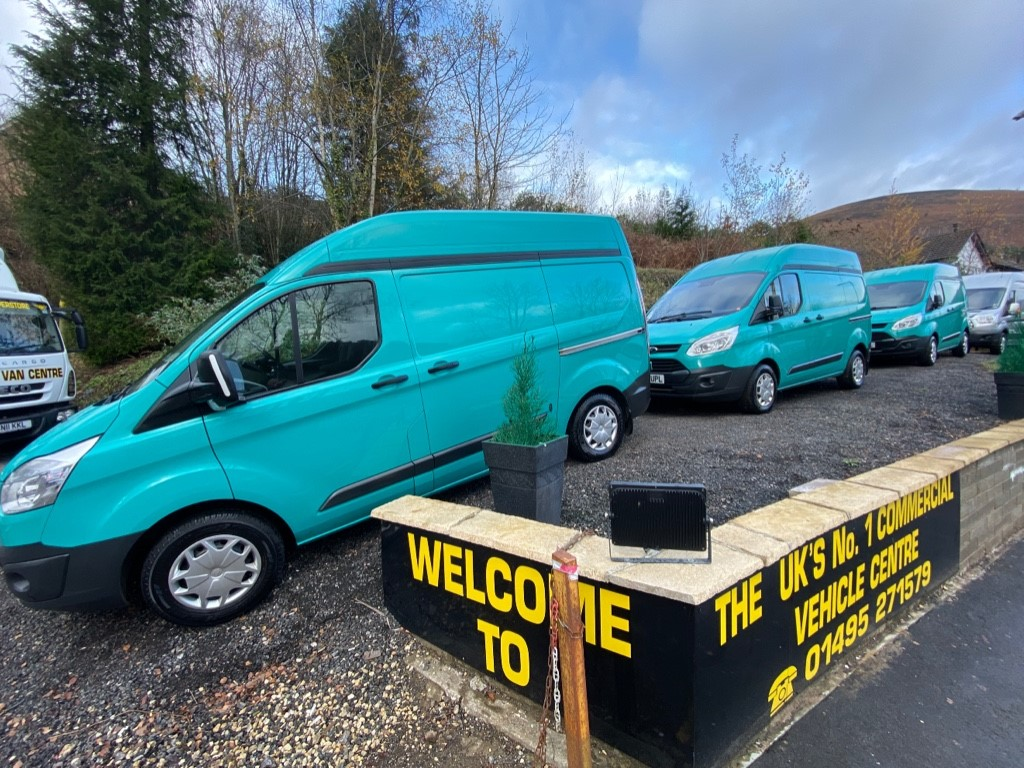 used Ford Transit Custom 310 TREND HR P/V CHOICE OF 3 in gwent