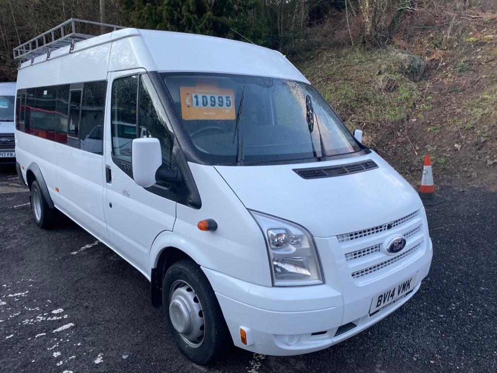 used Ford Transit 430 SHR BUS 17 STR in gwent
