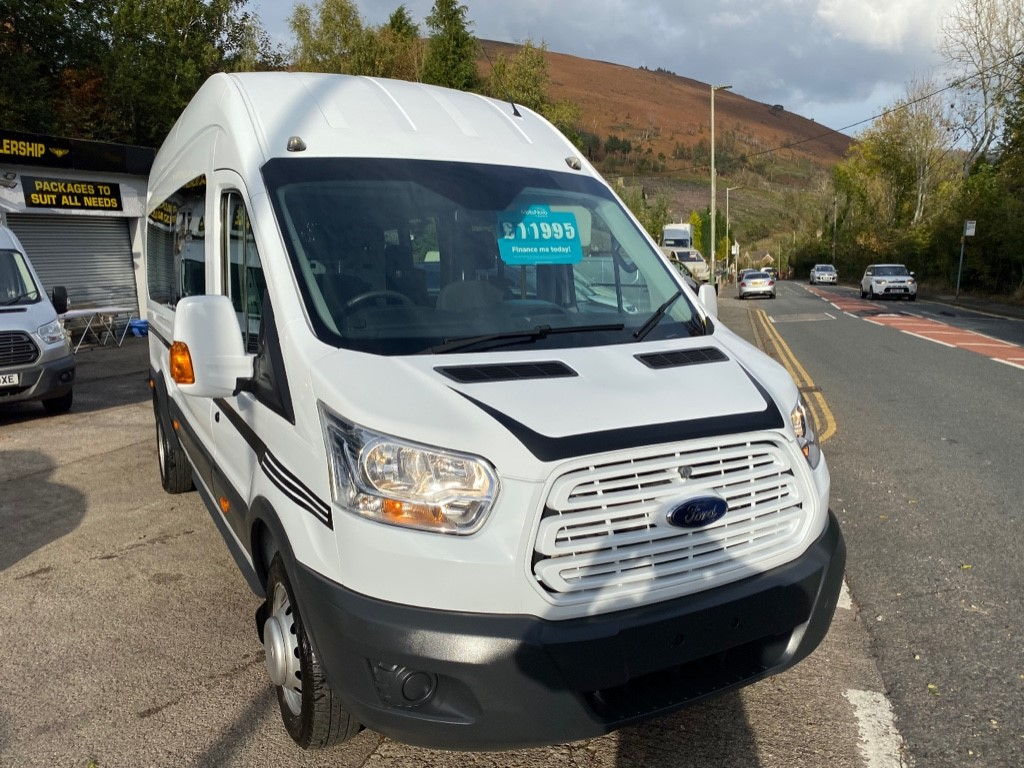 used Ford Transit 460 TREND H/R BUS 15 STR in gwent