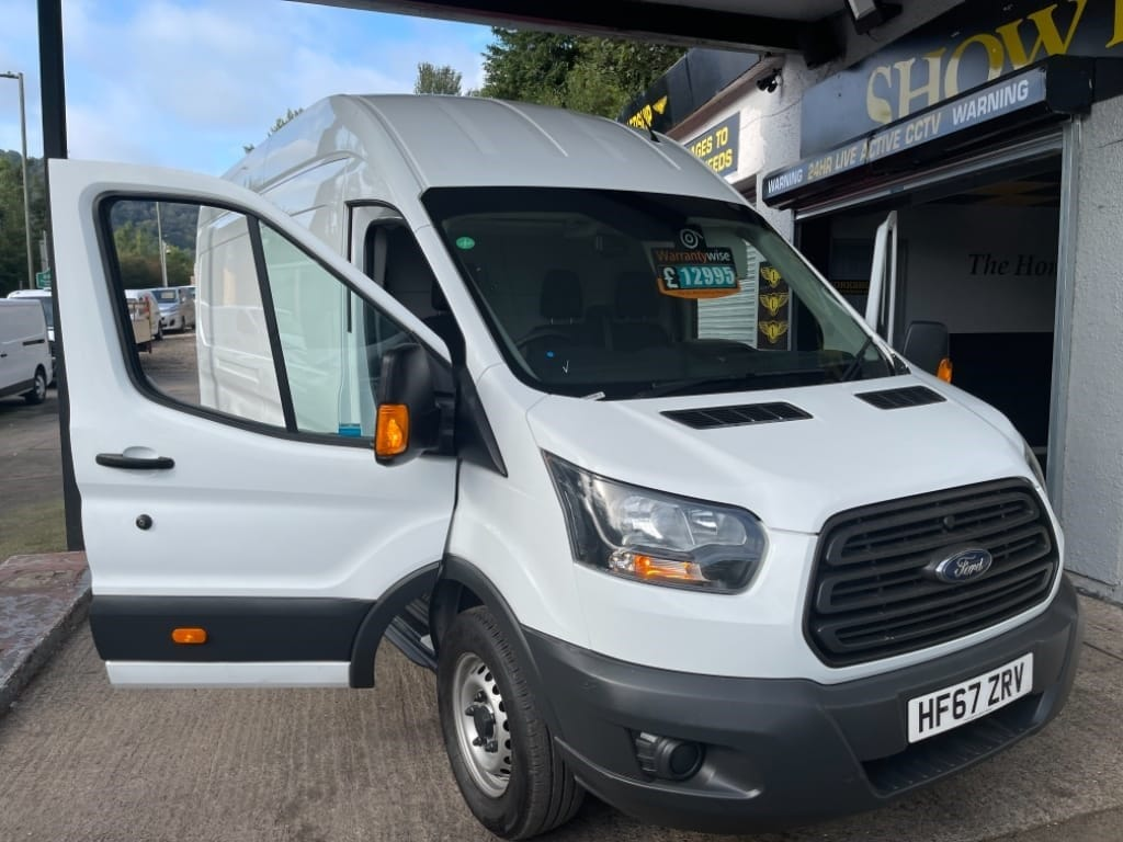 used Ford Transit 350 L4 H3 P/V DRW / EURO 6 / JUMBO in gwent