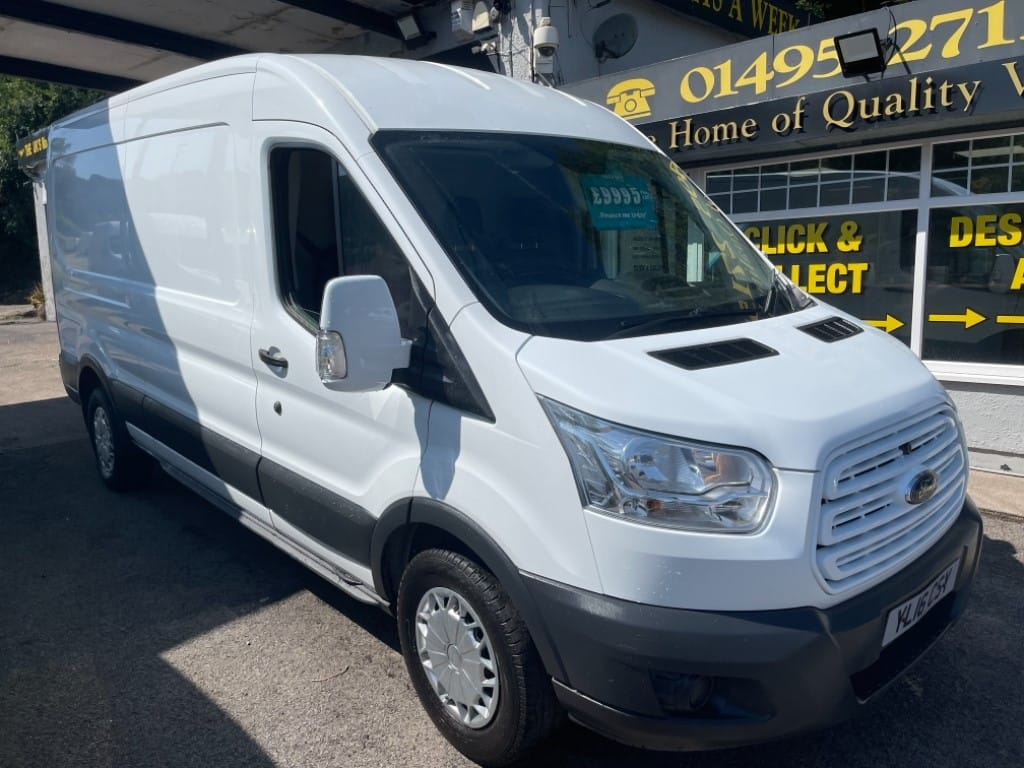 used Ford Transit 350 SHR P/V in gwent