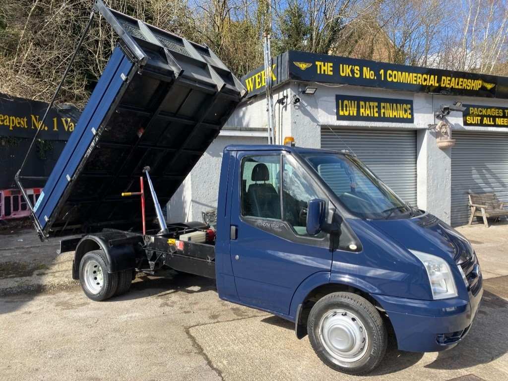 used Ford Transit 350 C/C DRW / TWIN REAR WHEEL BASE in gwent