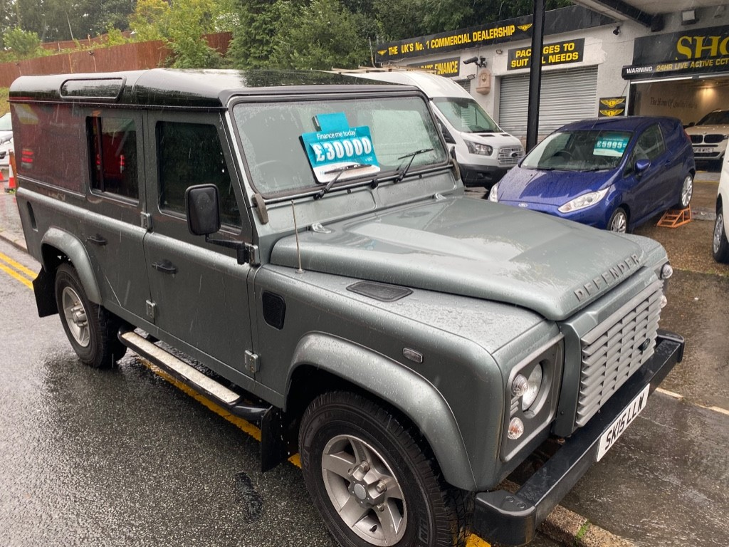 used Land Rover Defender TD XS UTILITY WAGON in gwent