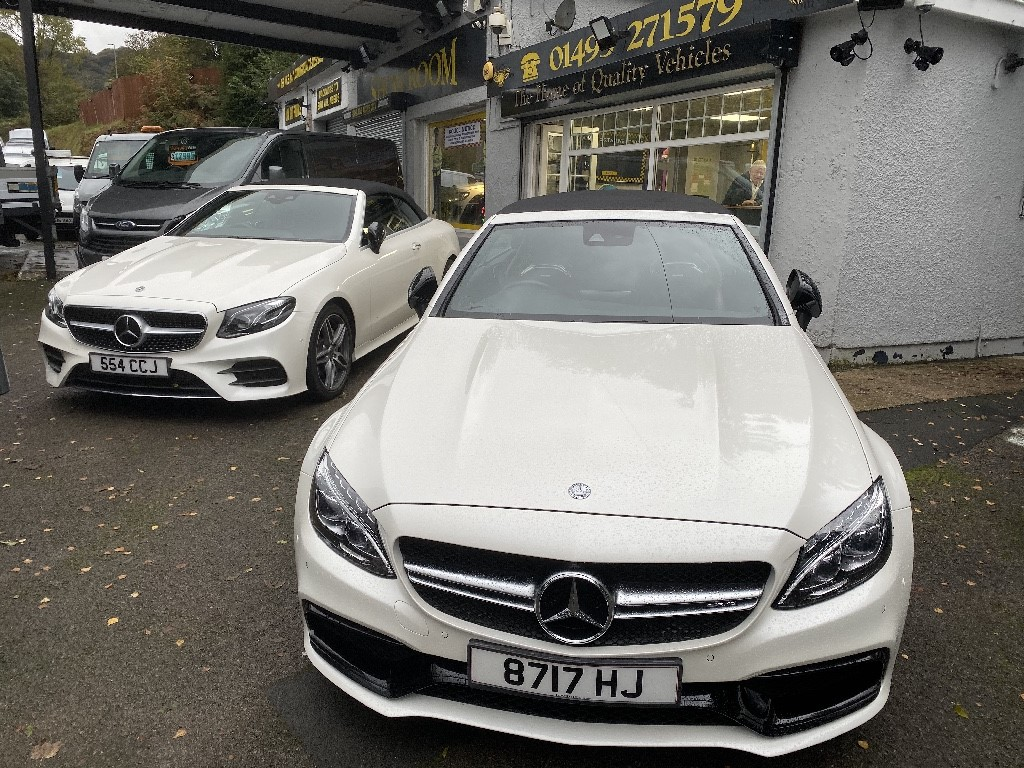 used Mercedes C63 AMG AMG C 63 S EDITION 1 in gwent