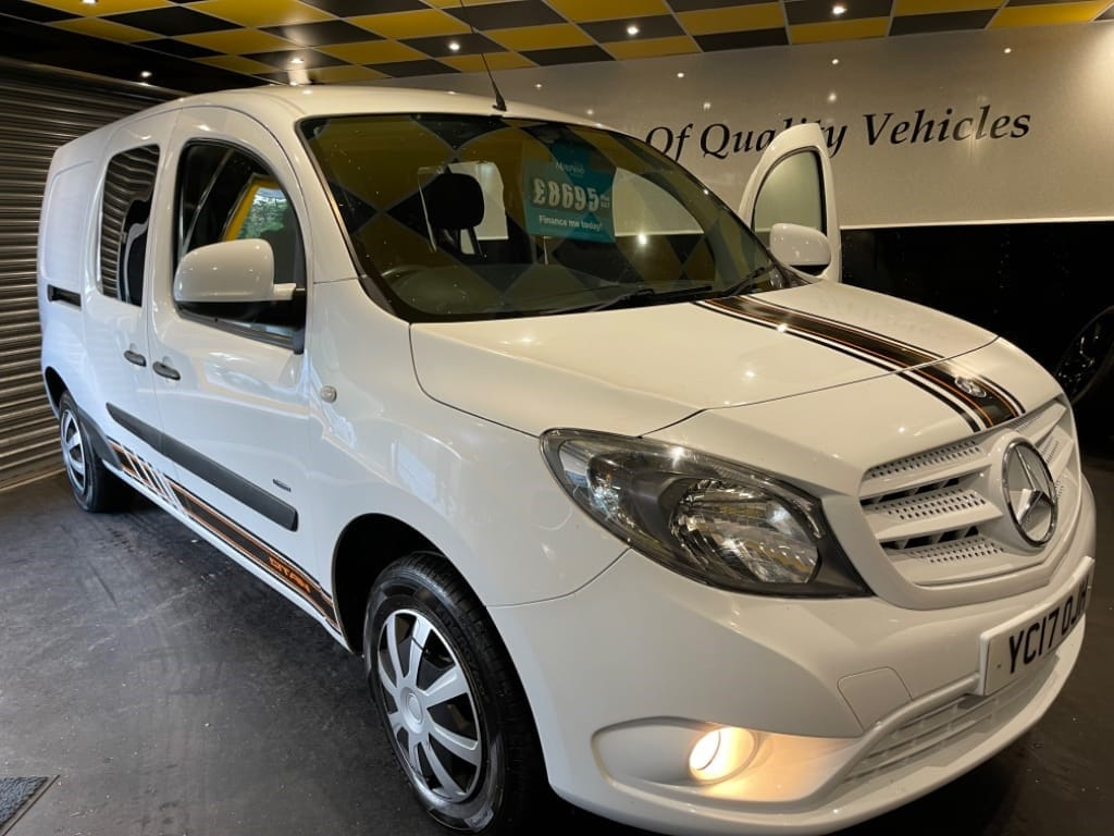 used Mercedes Citan 109 CDI BLUEEFFICIENCY DUALINER EXTRA LONG in gwent
