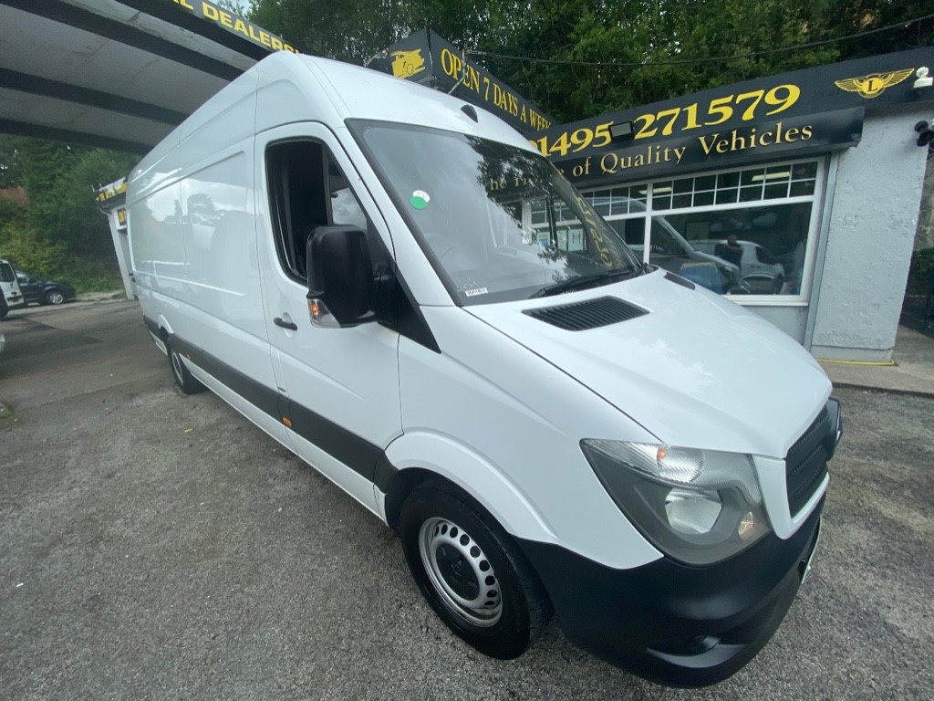 used Mercedes Sprinter 314CDI in gwent