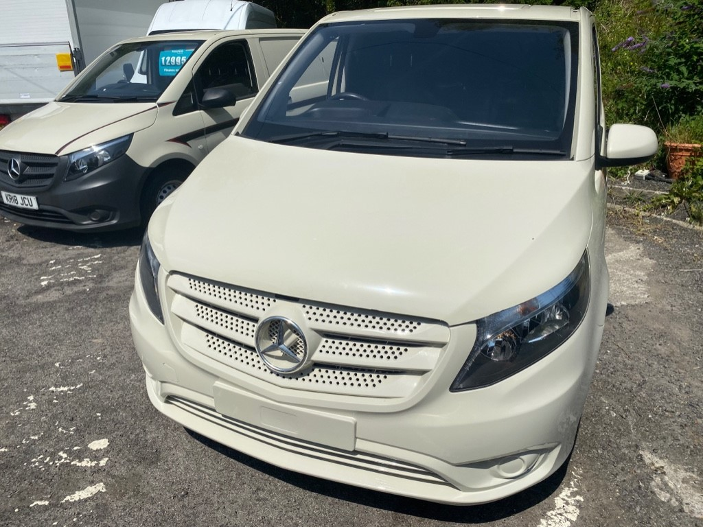 used Mercedes Vito 111 CDI in gwent