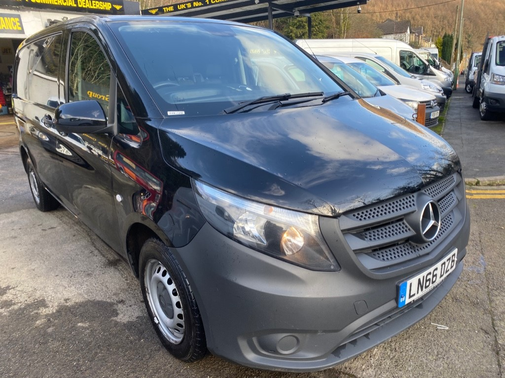 used Mercedes Vito 114 BLUETEC in gwent