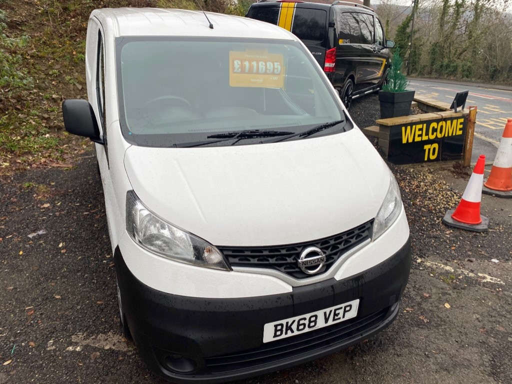 used Nissan NV200 DCI ACENTA in gwent