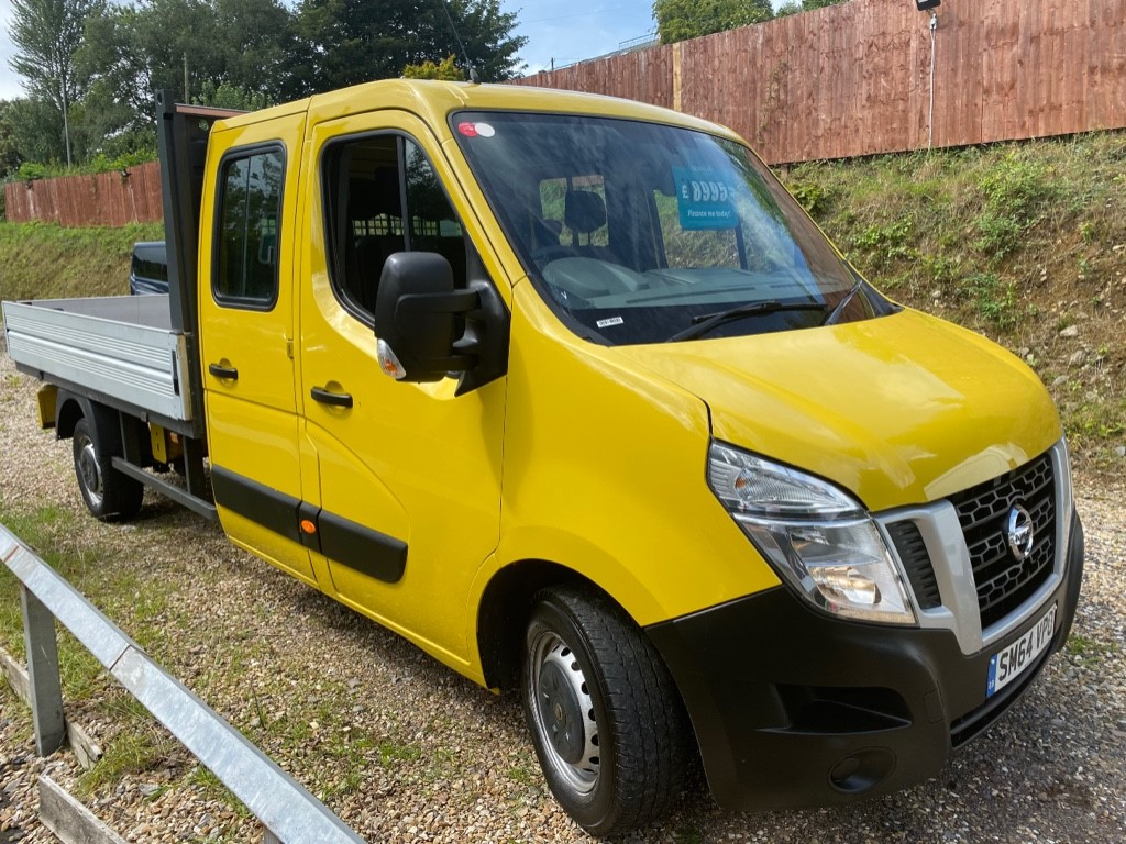 used Nissan NV400 DCI SE SHR C/C DROPSIDE in gwent
