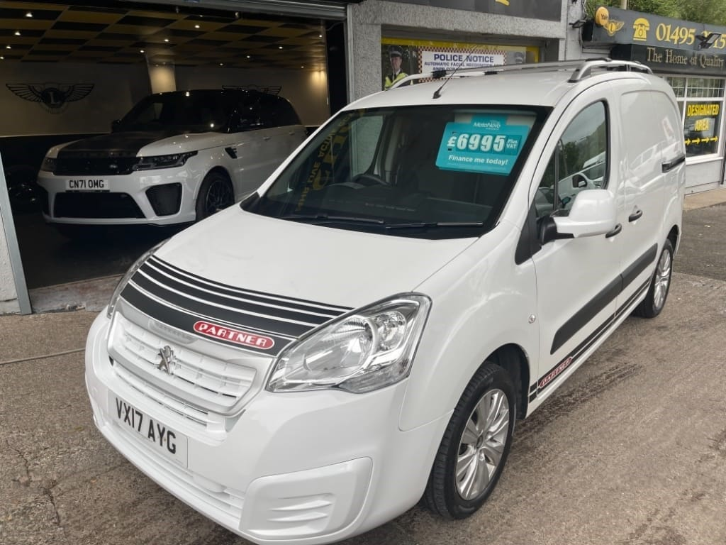 used Peugeot Partner BLUE HDI S L1 / EURO 6 in gwent