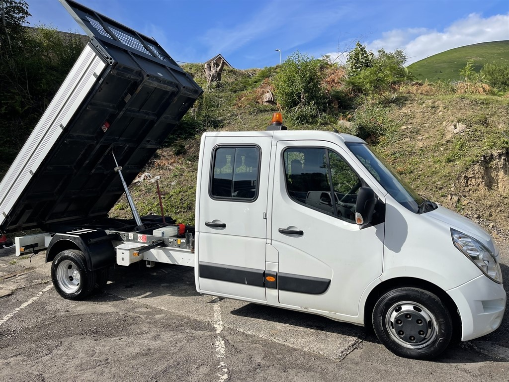 used Renault Master LL35 BUSINESS DCI L/R DCC TIPPER DRW in gwent