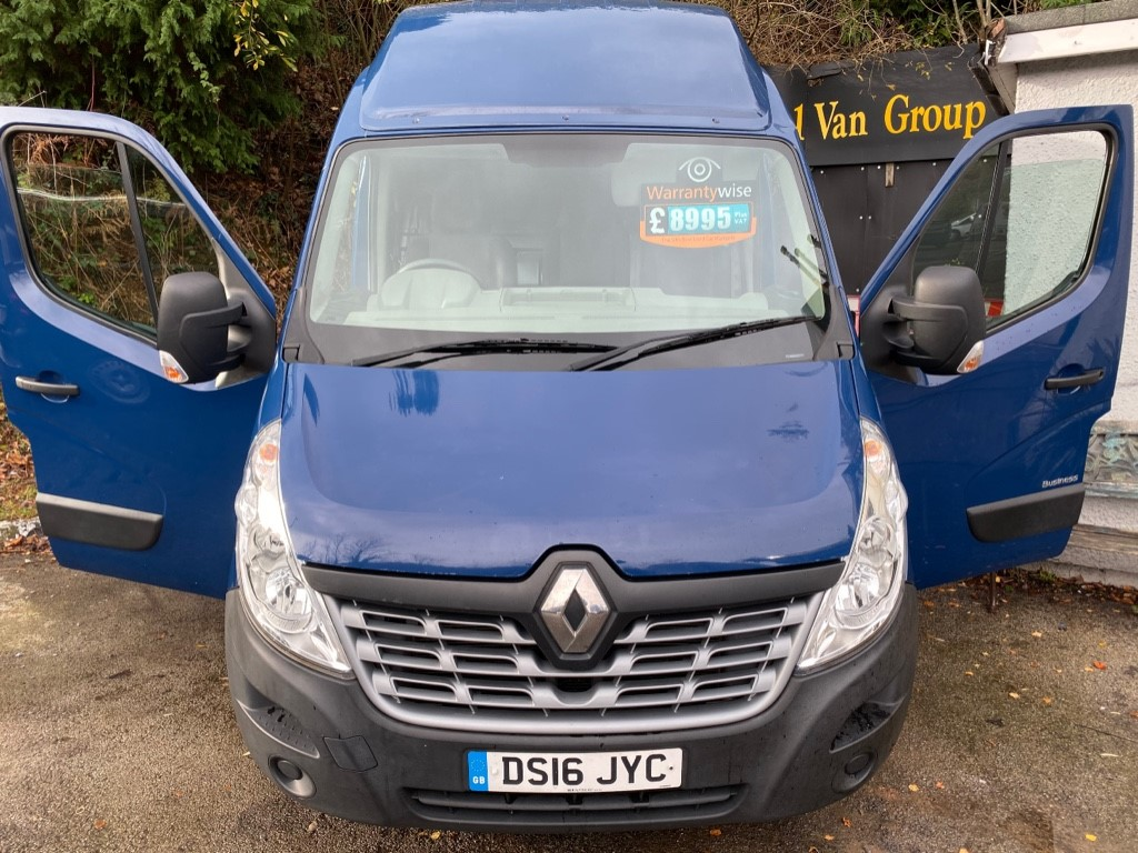 used Renault Master MH35 BUSINESS DCI S/R P/V in gwent
