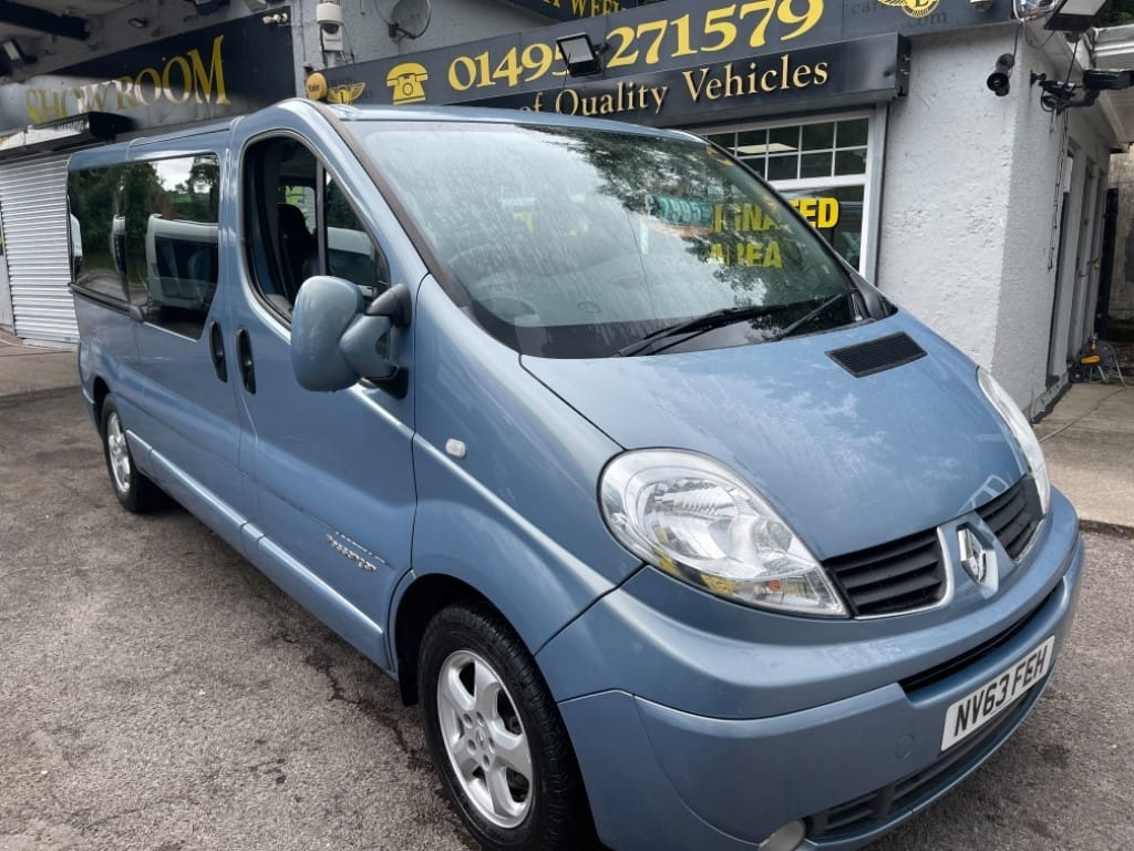 used Renault Trafic LL29 SPORT DCI / AIR-CON / SAT-NAV in gwent
