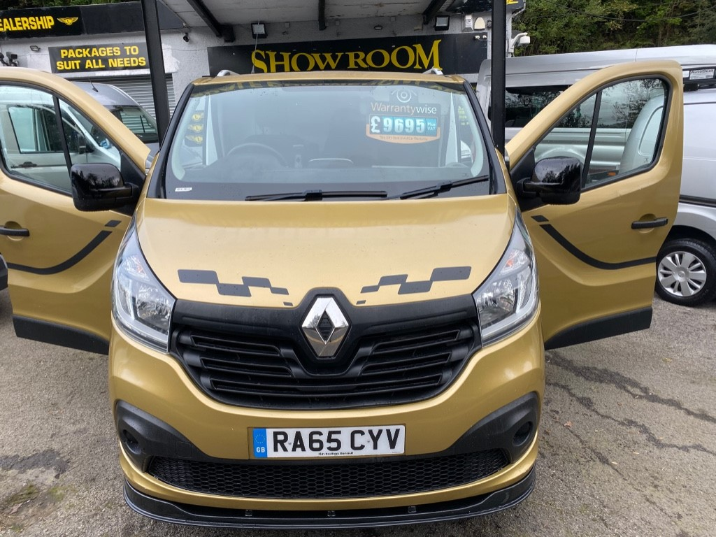 used Renault Trafic SL27 BUSINESS PLUS ENERGY DCI S/R P/V in gwent