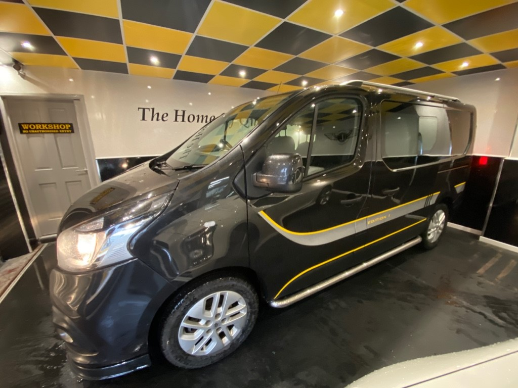 used Renault Trafic SL27 SPORT NAV EDITION 1  DCI CREW in gwent