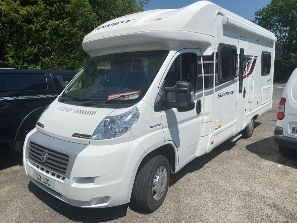 used Swift Sundance 35 C/C MULTIJET in gwent