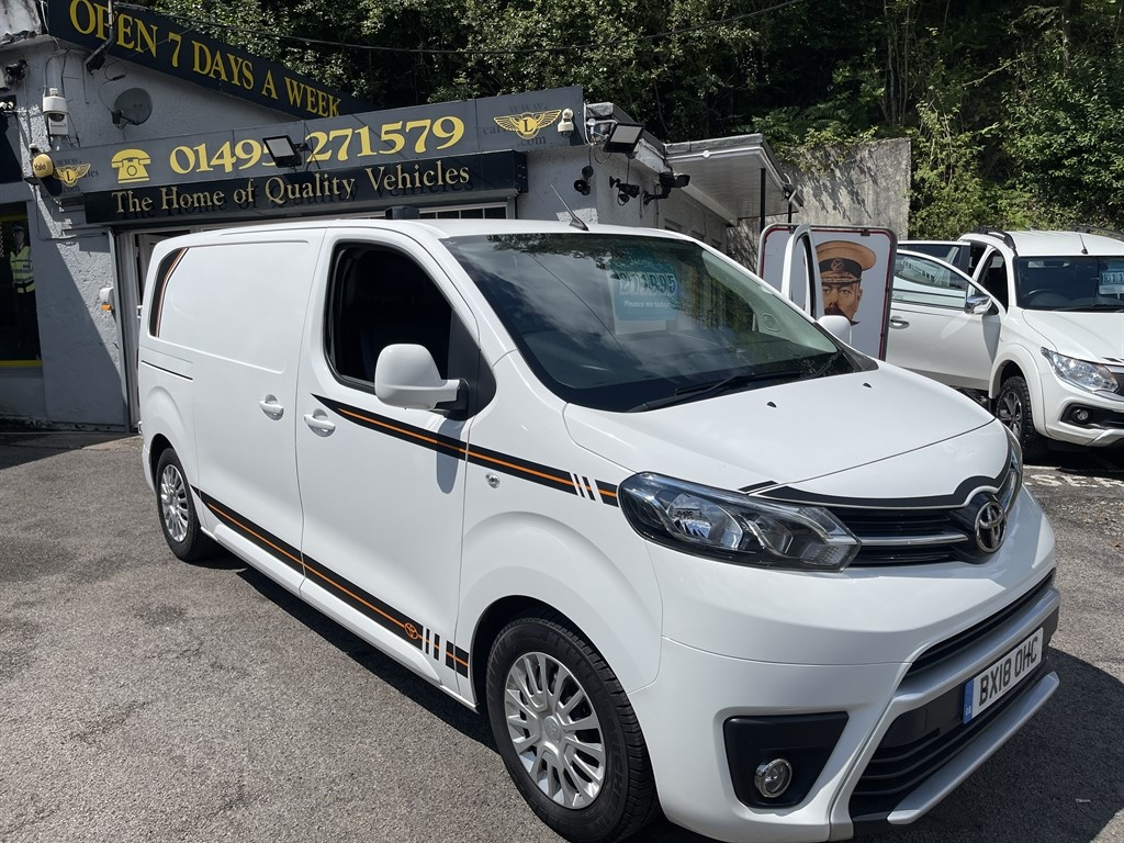 used Toyota Proace L1 COMFORT / AIR-CON in gwent