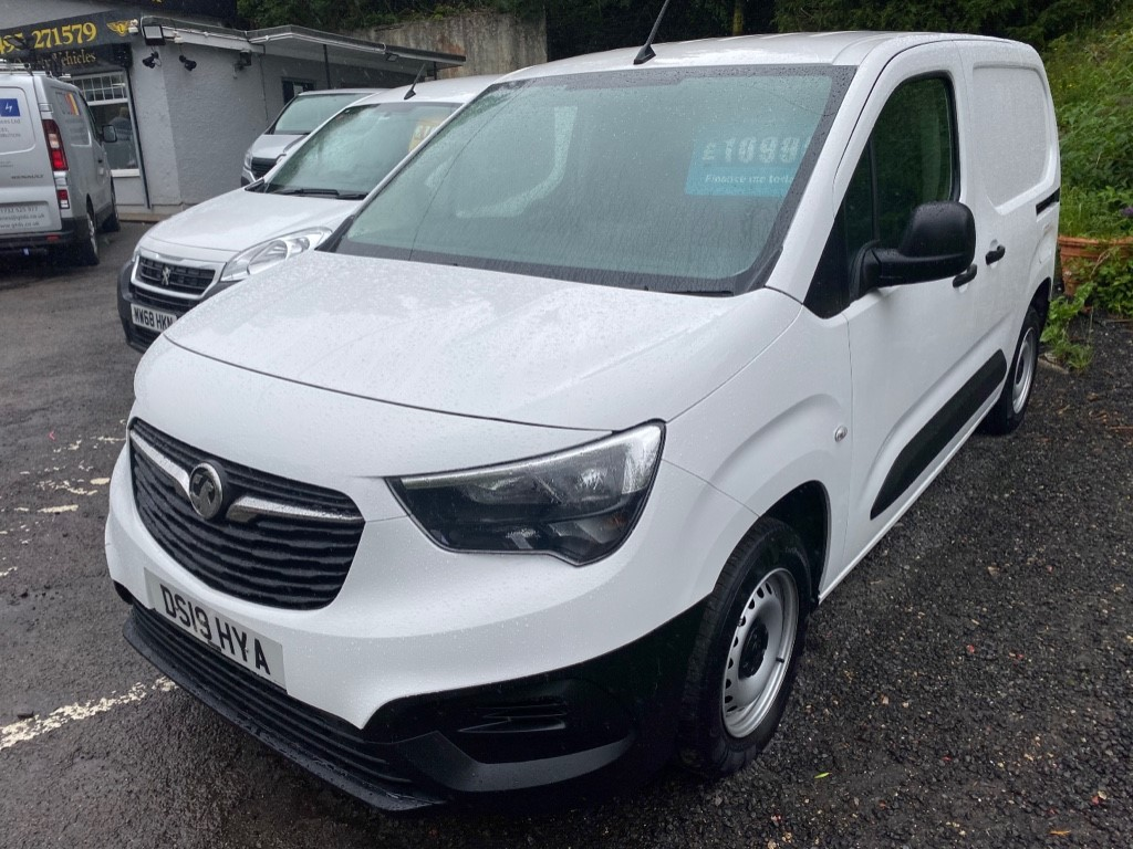 used Vauxhall Combo L1H1 2000 EDITION S/S in gwent