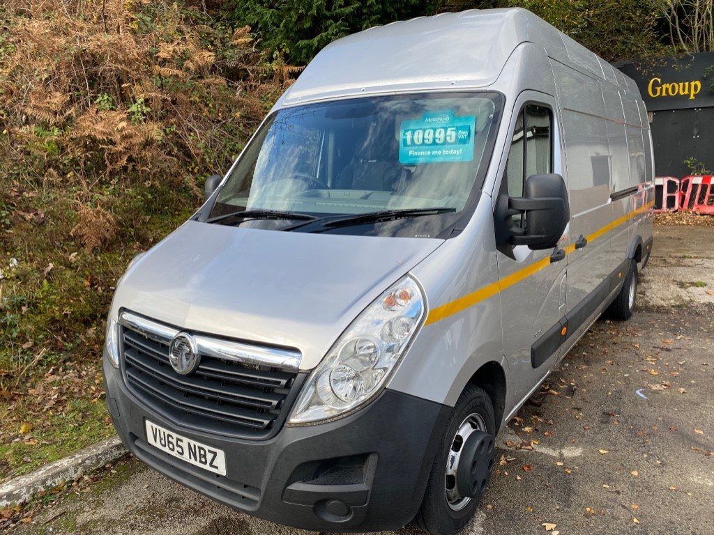 used Vauxhall Movano R3500 L4H3 P/V CDTI DRW in gwent